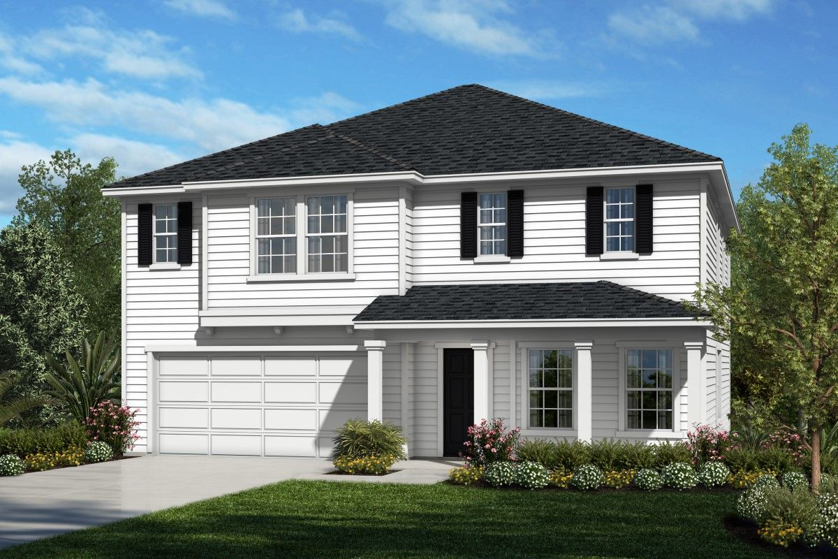 Exterior featured in the Plan 2716 By KB Home in Jacksonville-St. Augustine, FL