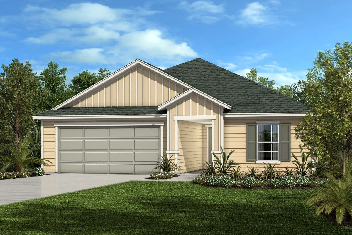 Exterior featured in The Hayden By KB Home in Jacksonville-St. Augustine, FL
