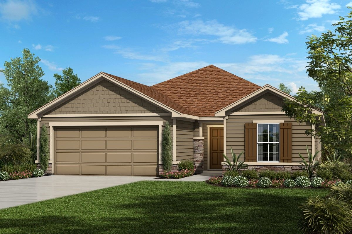 Exterior featured in The Sullivan Modeled By KB Home in Jacksonville-St. Augustine, FL
