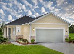 The Darby Modeled - The Preserve at Wells Creek - Executive Series: Jacksonville, Florida - KB Home
