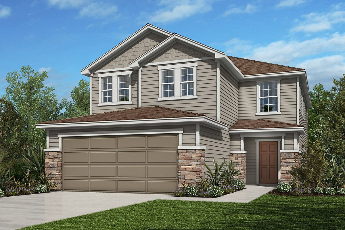 Exterior featured in The Westin Modeled By KB Home in Jacksonville-St. Augustine, FL