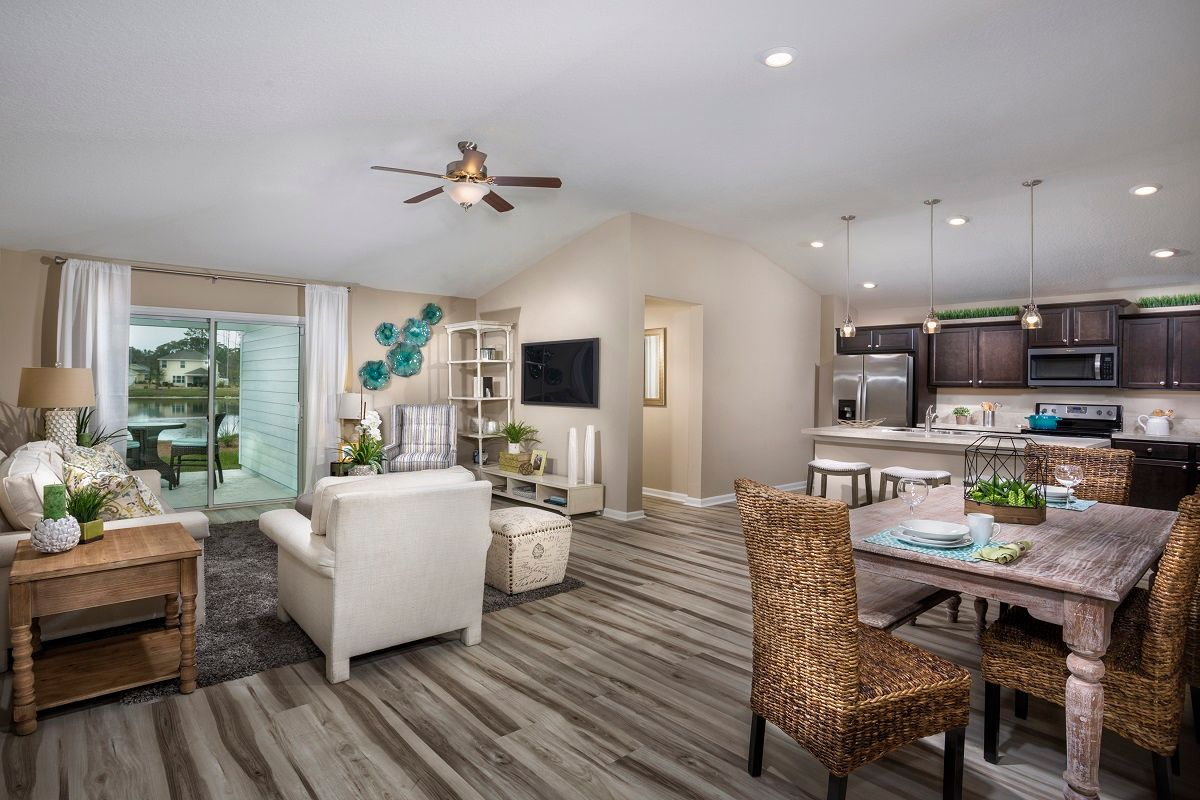 Living Area featured in The Darby Modeled By KB Home in Jacksonville-St. Augustine, FL