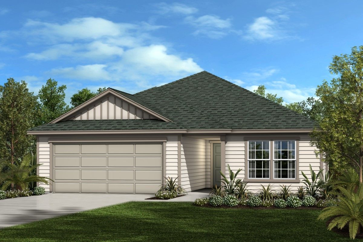 Exterior featured in The Avondale Modeled By KB Home in Daytona Beach, FL