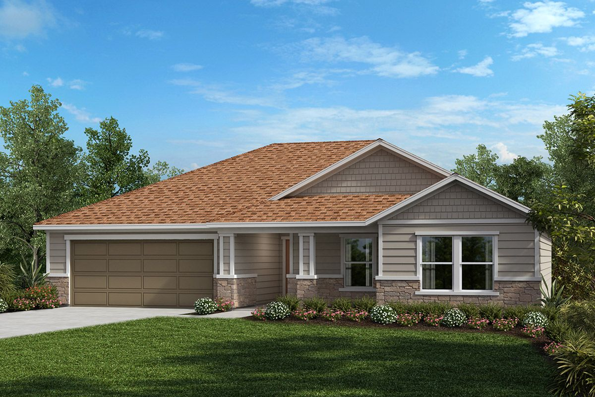 Exterior featured in The Conway By KB Home in Jacksonville-St. Augustine, FL