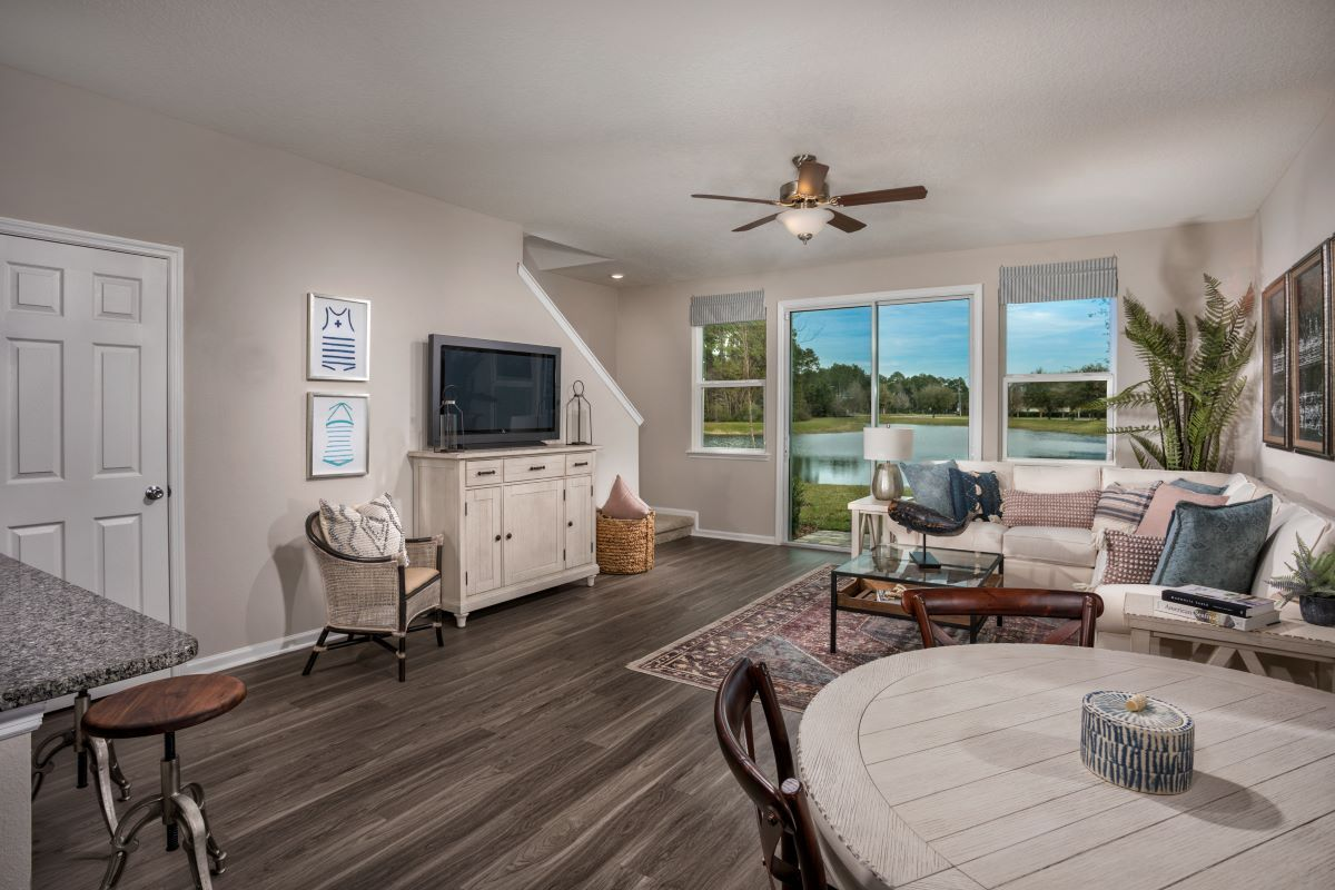 Living Area featured in The Emery By KB Home in Jacksonville-St. Augustine, FL