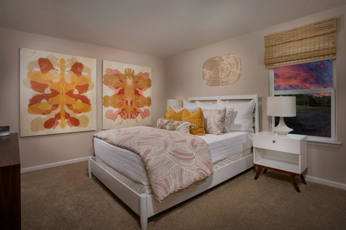 Bedroom featured in The Warren By KB Home in Jacksonville-St. Augustine, FL