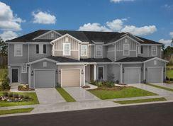 The Warren Modeled - Orchard Park Townhomes: Saint Augustine, Florida - KB Home