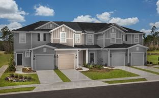 Orchard Park Townhomes by KB Home in Jacksonville-St. Augustine Florida