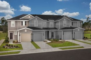The Pearce Modeled - Orchard Park Townhomes: Saint Augustine, Florida - KB Home