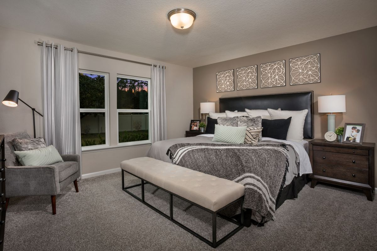 Bedroom featured in The Berkley Modeled By KB Home in Jacksonville-St. Augustine, FL
