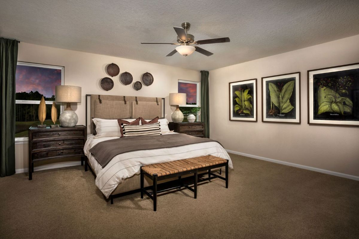 Bedroom featured in the Plan 2089 Modeled By KB Home in Jacksonville-St. Augustine, FL