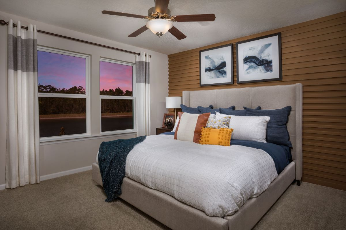 Bedroom featured in The Hawkins Modeled By KB Home in Jacksonville-St. Augustine, FL