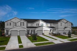 The Watson Modeled - Meadows at Oakleaf Townhomes: Jacksonville, Florida - KB Home