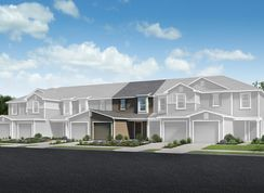 The Emery - Orchard Park Townhomes: Saint Augustine, Florida - KB Home