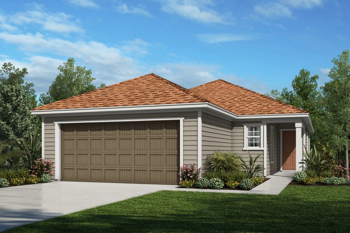 Exterior featured in The Darby By KB Home in Jacksonville-St. Augustine, FL