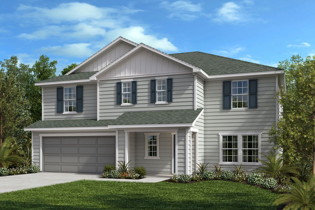 Exterior featured in The Hamilton By KB Home in Jacksonville-St. Augustine, FL