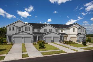 The Hawkins Modeled - Meadows at Oakleaf Townhomes: Jacksonville, Florida - KB Home