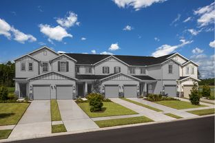 The Griffith Modeled - Meadows at Oakleaf Townhomes: Jacksonville, Florida - KB Home
