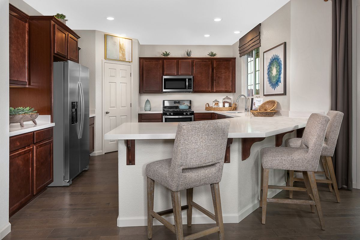 Kitchen featured in the Plan 2487 Modeled By KB Home in Sacramento, CA