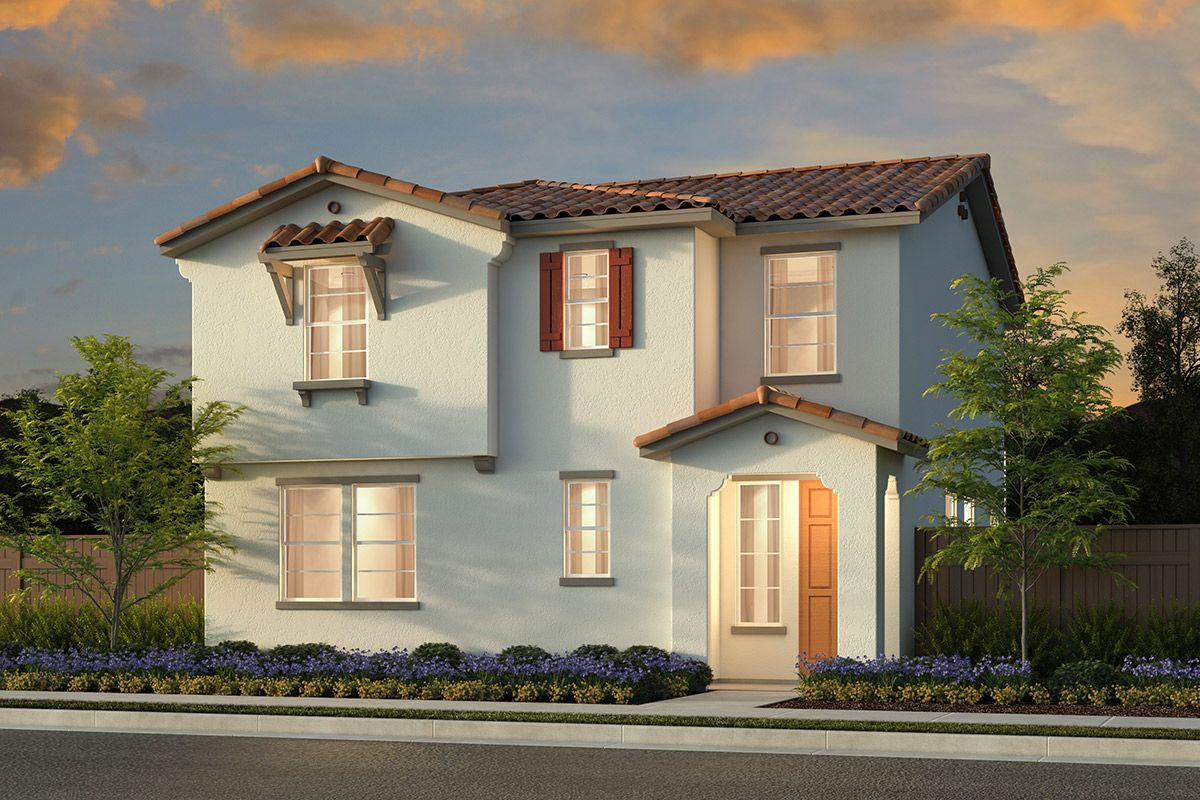 Exterior featured in the Plan 2334 Modeled By KB Home in Sacramento, CA
