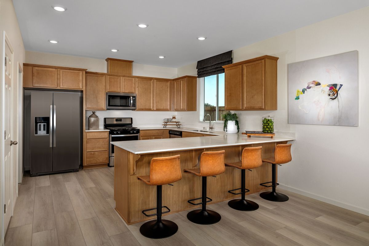 Kitchen featured in the Plan 1779 Modeled By KB Home in Sacramento, CA