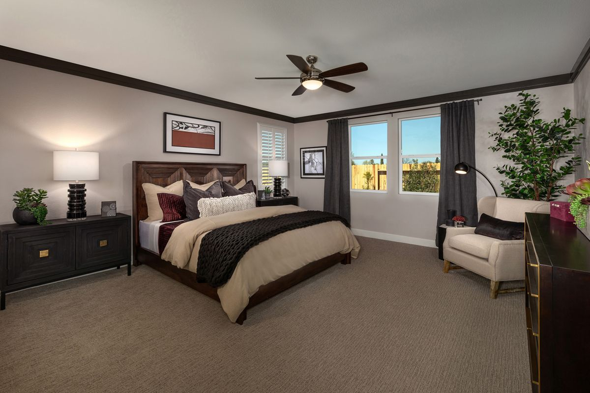 Bedroom featured in the Plan 2354 Modeled By KB Home in Sacramento, CA