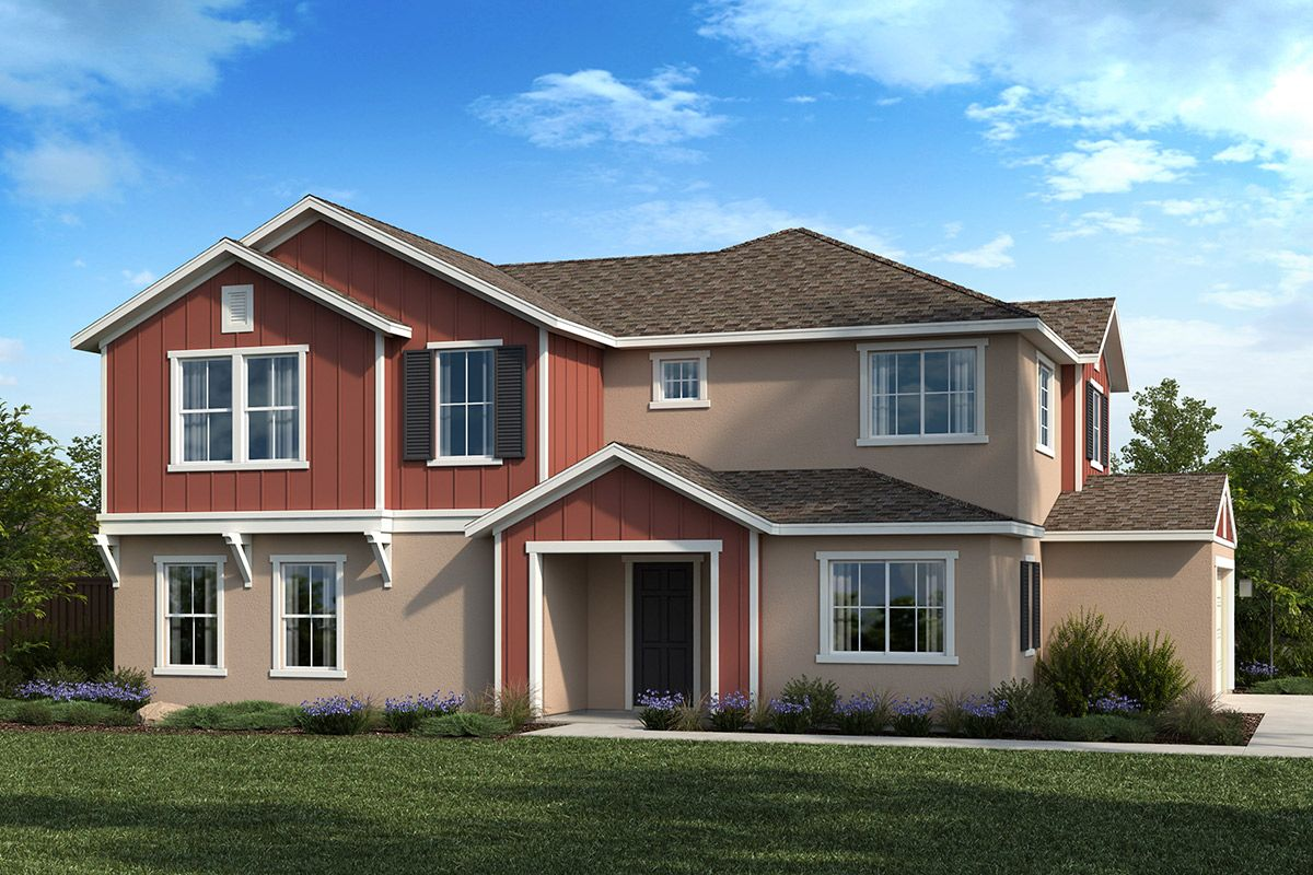 Exterior featured in the Plan 2233 Modeled By KB Home in Sacramento, CA