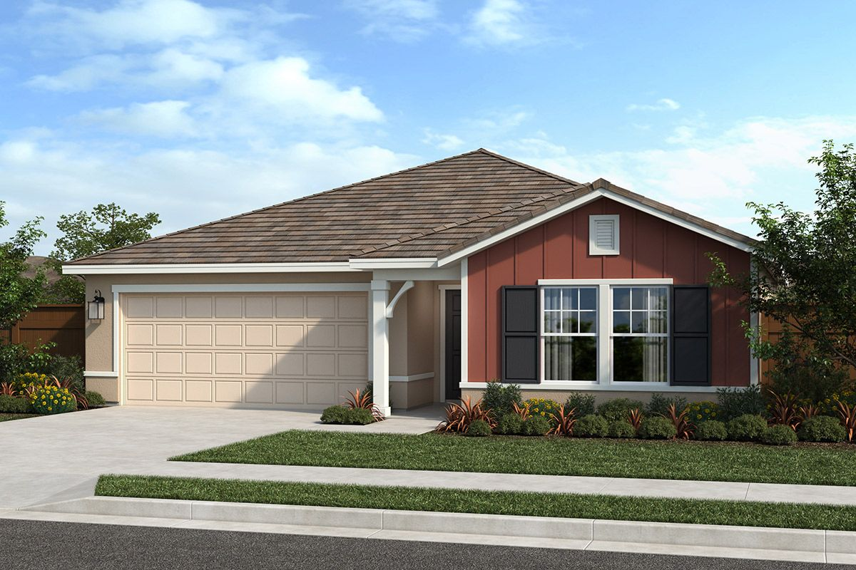 Exterior featured in the Plan 1751 Modeled By KB Home in Sacramento, CA