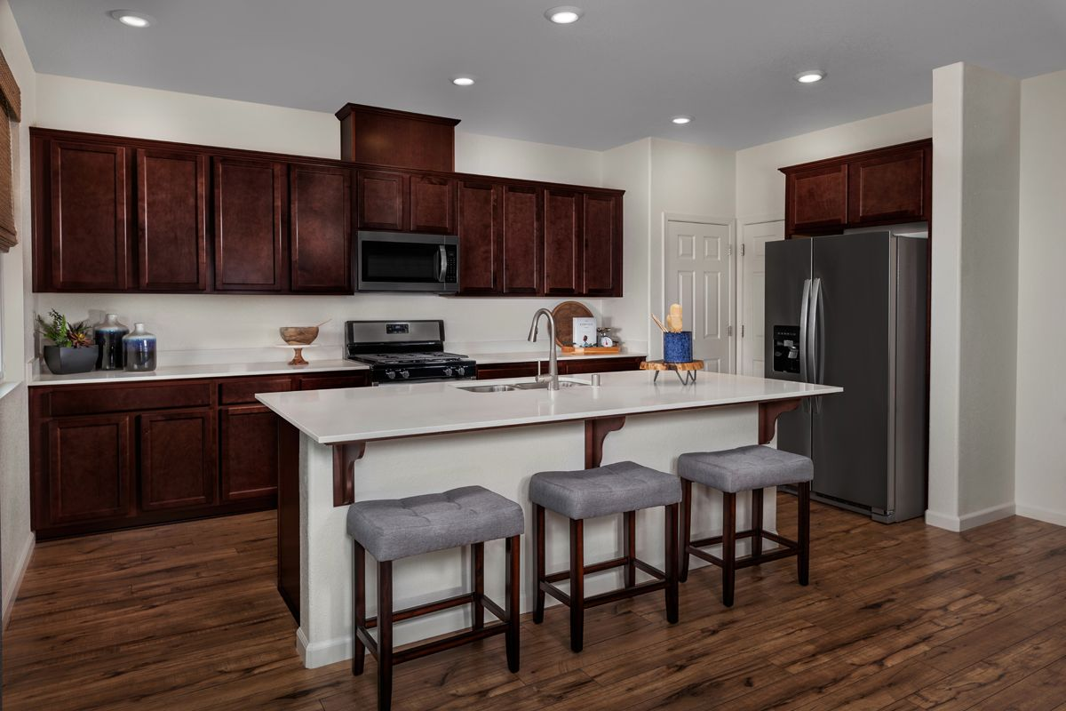 Kitchen-in-Plan 2091 - Modeled-at-Belluno-in-Stockton