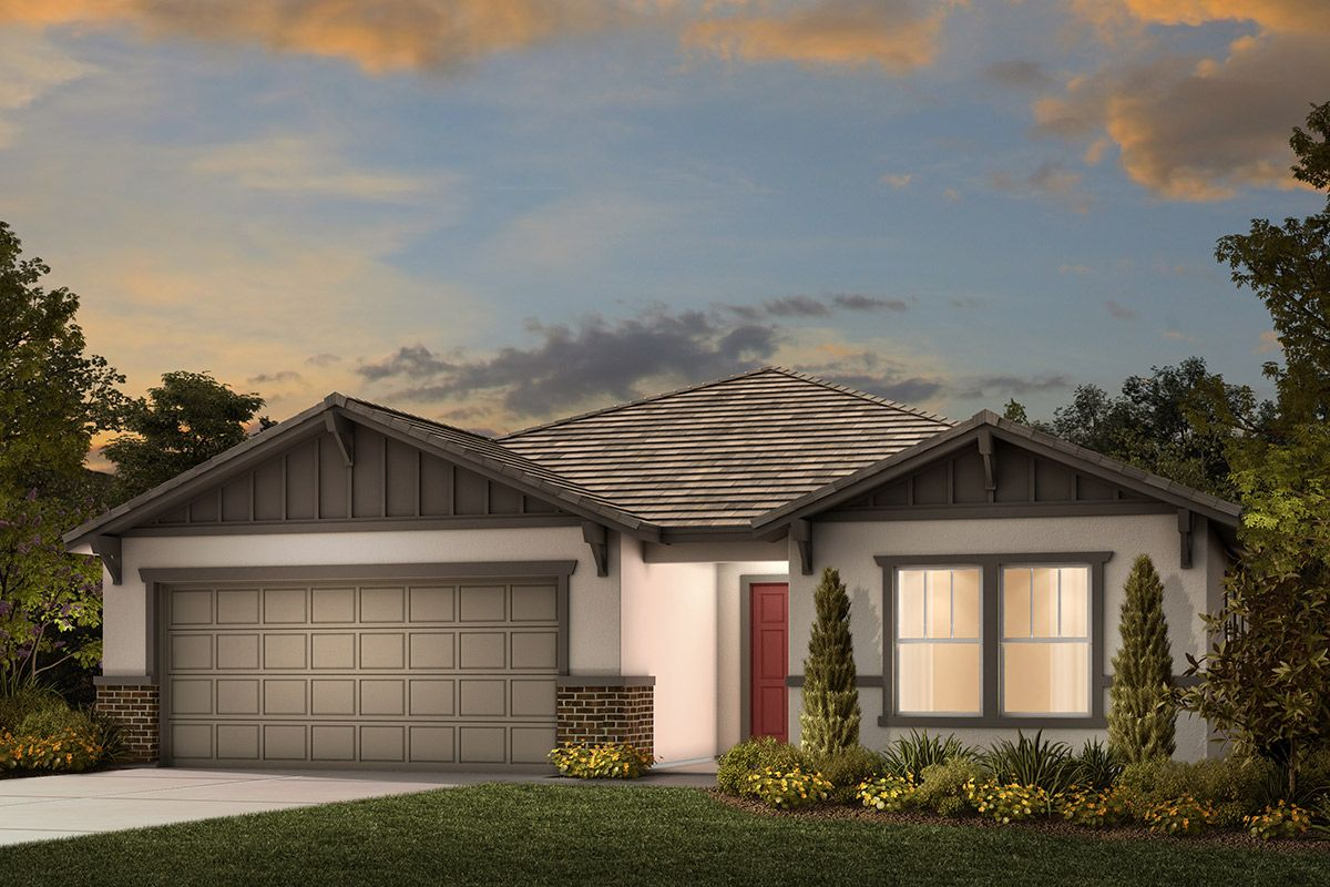 Exterior featured in the Plan 1925 Modeled By KB Home in Stockton-Lodi, CA