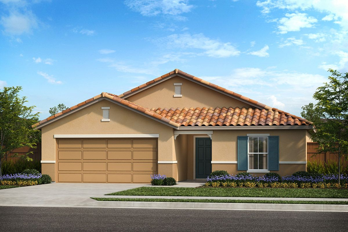 Exterior featured in the Plan 1934 Modeled By KB Home in Modesto, CA