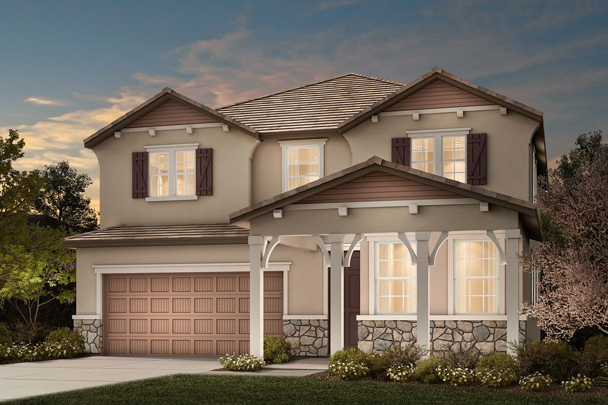 Exterior featured in the Plan 2674 By KB Home in Stockton-Lodi, CA
