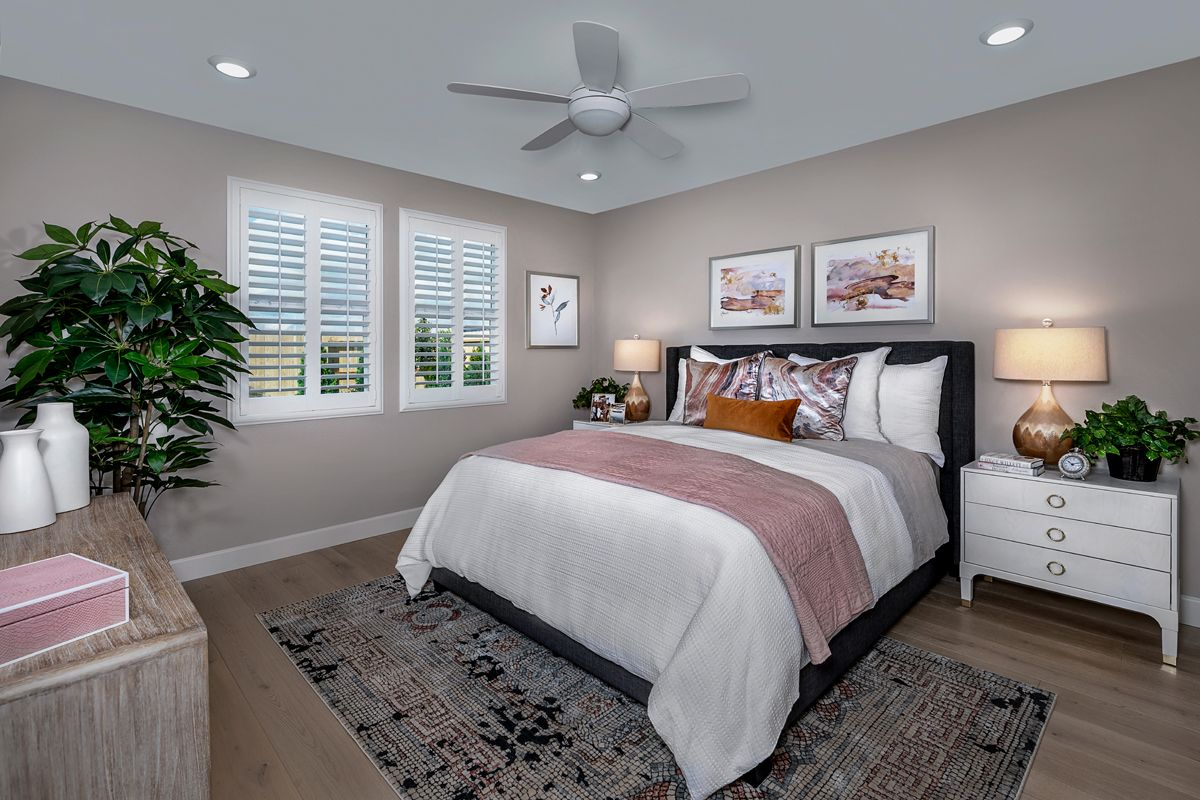 Bedroom featured in the Plan 1718 Modeled By KB Home in Stockton-Lodi, CA
