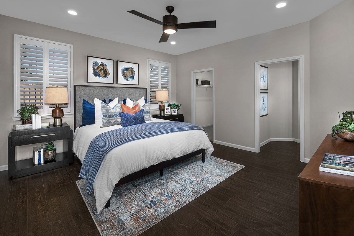 Bedroom featured in the Plan 1934 Modeled By KB Home in Modesto, CA