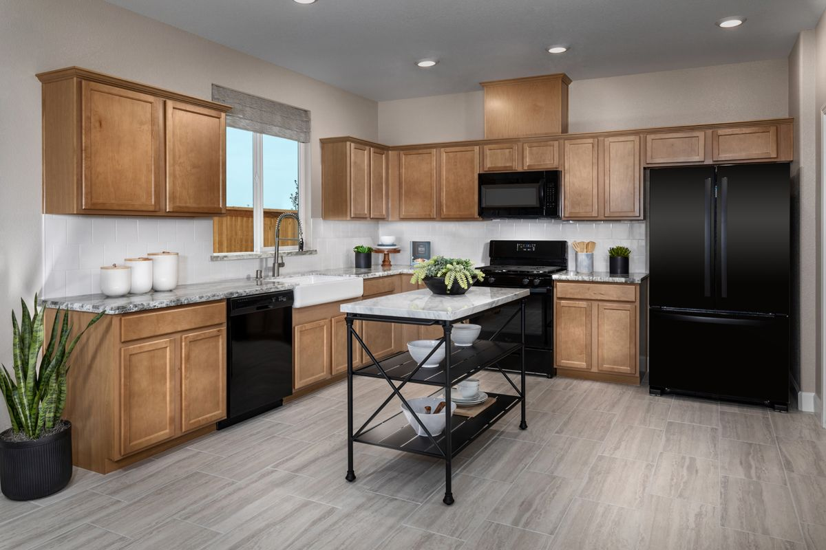 Kitchen featured in the Plan 1779 Modeled By KB Home in Modesto, CA