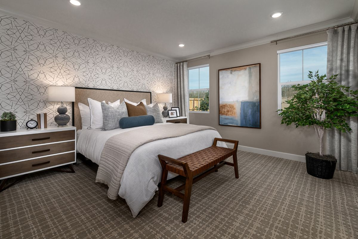 Bedroom featured in the Plan 1779 Modeled By KB Home in Modesto, CA