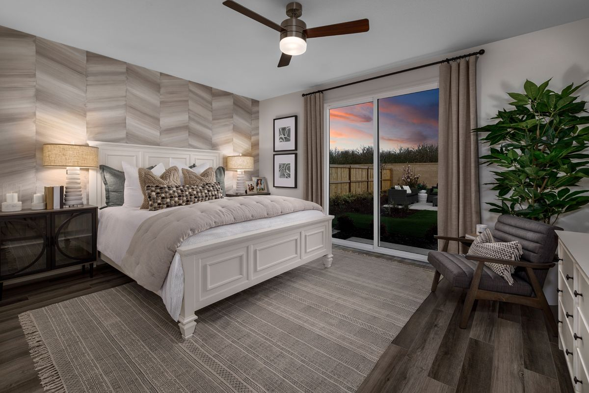 Bedroom featured in the Plan 1996 Modeled By KB Home in Modesto, CA