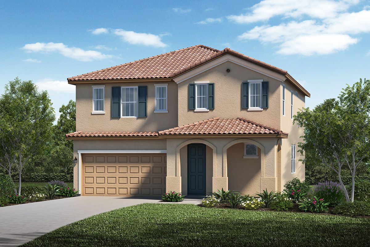 Exterior featured in the Plan 2126 Modeled By KB Home in Stockton-Lodi, CA