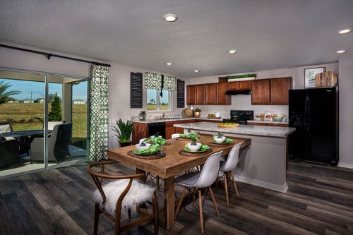 Kitchen-in-Plan 2545 Modeled-at-Stewart Lake Preserve-in-Groveland