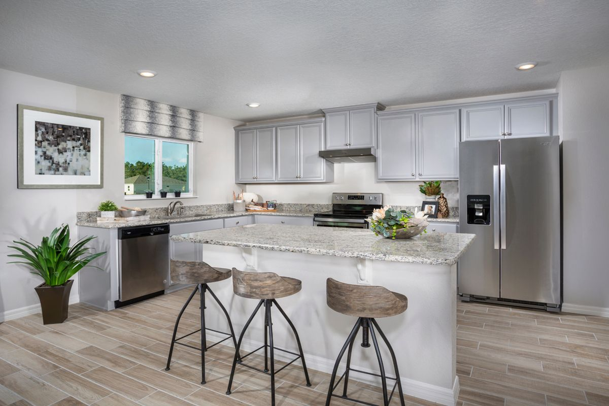 Kitchen-in-Plan 2545 Modeled-at-Gramercy Farms-in-Saint Cloud
