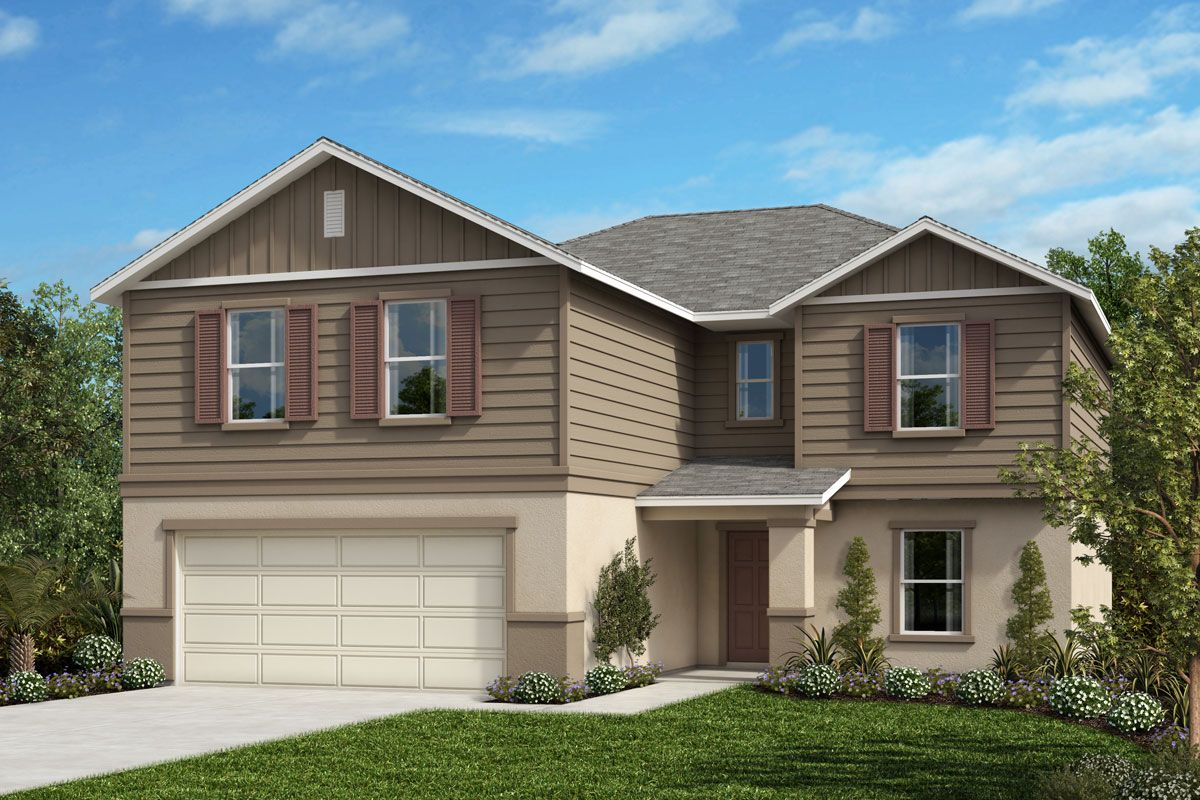 Exterior featured in the Plan 2545 By KB Home in Orlando, FL