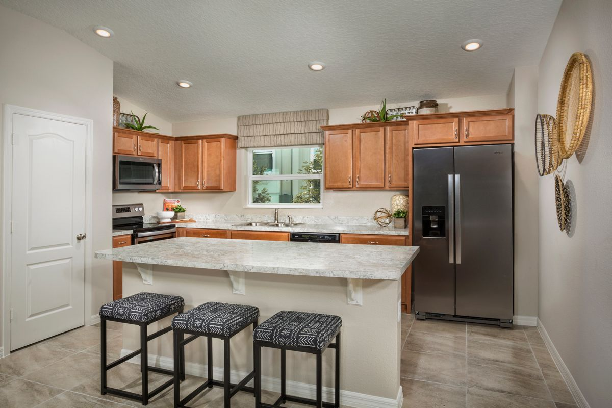 Kitchen featured in the Plan 1511 - Modeled By KB Home in Lakeland-Winter Haven, FL