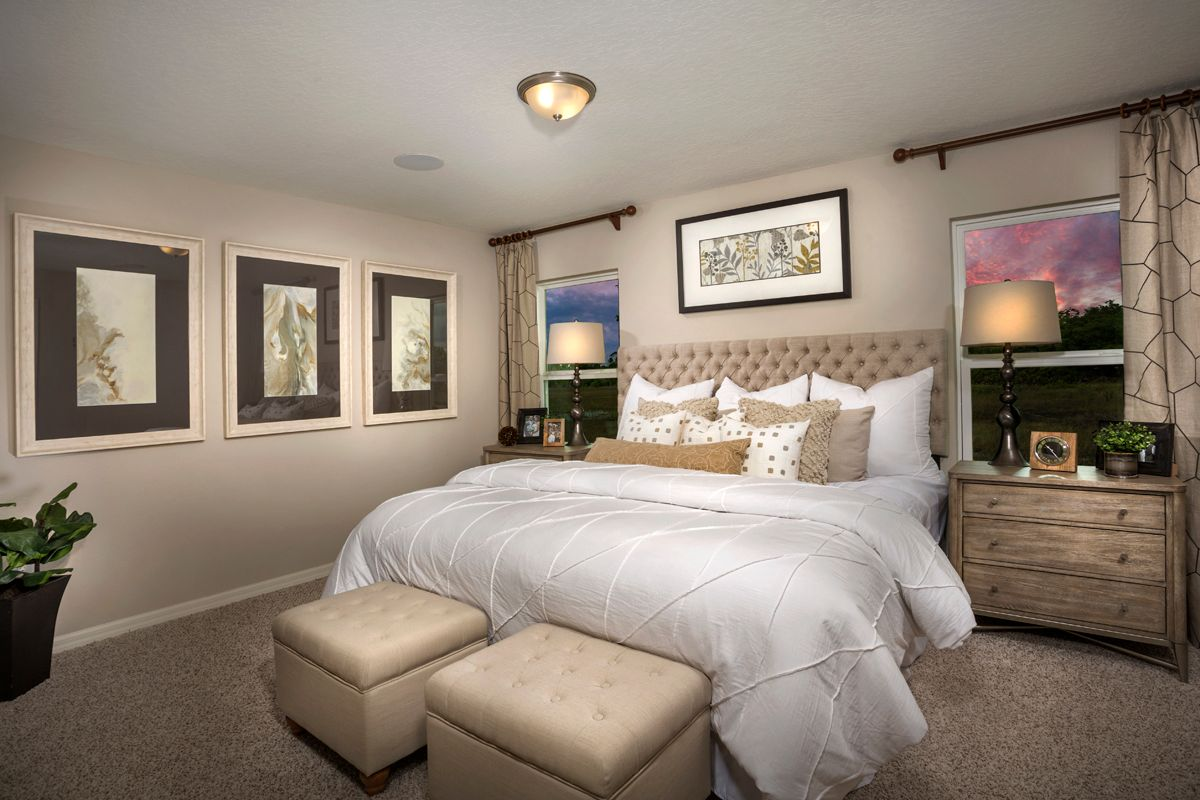 Bedroom featured in the Plan 1511 - Modeled By KB Home in Lakeland-Winter Haven, FL