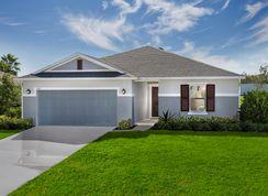 Plan 1707 - Modeled - The Gardens at Lake Jackson Ridge: Mascotte, Florida - KB Home