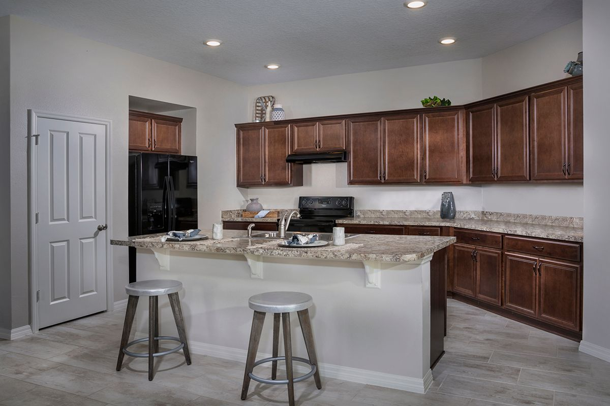 Kitchen featured in the Plan 1989 - Modeled By KB Home in Orlando, FL