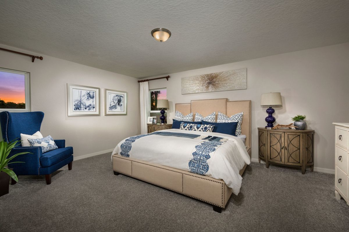 Bedroom featured in the Plan 1989 Modeled By KB Home in Orlando, FL