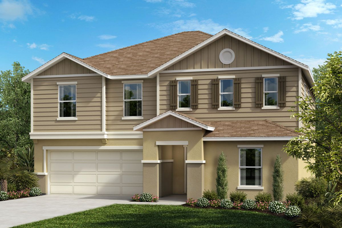 Exterior featured in the Plan 2566 By KB Home in Orlando, FL