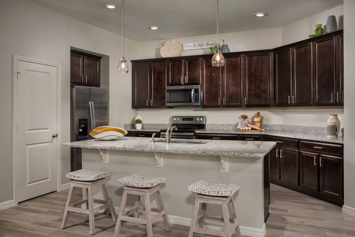 Kitchen featured in the Plan 1989 Modeled By KB Home in Lakeland-Winter Haven, FL