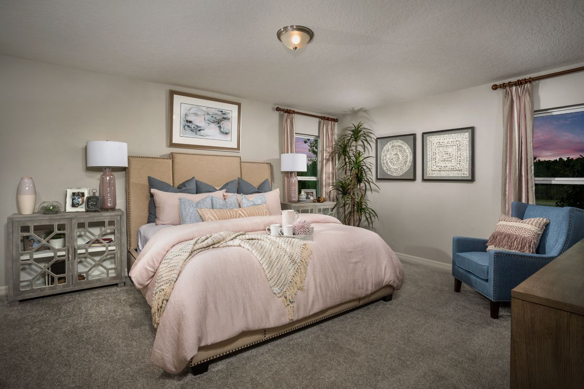 Bedroom featured in the Plan 1989 Modeled By KB Home in Lakeland-Winter Haven, FL