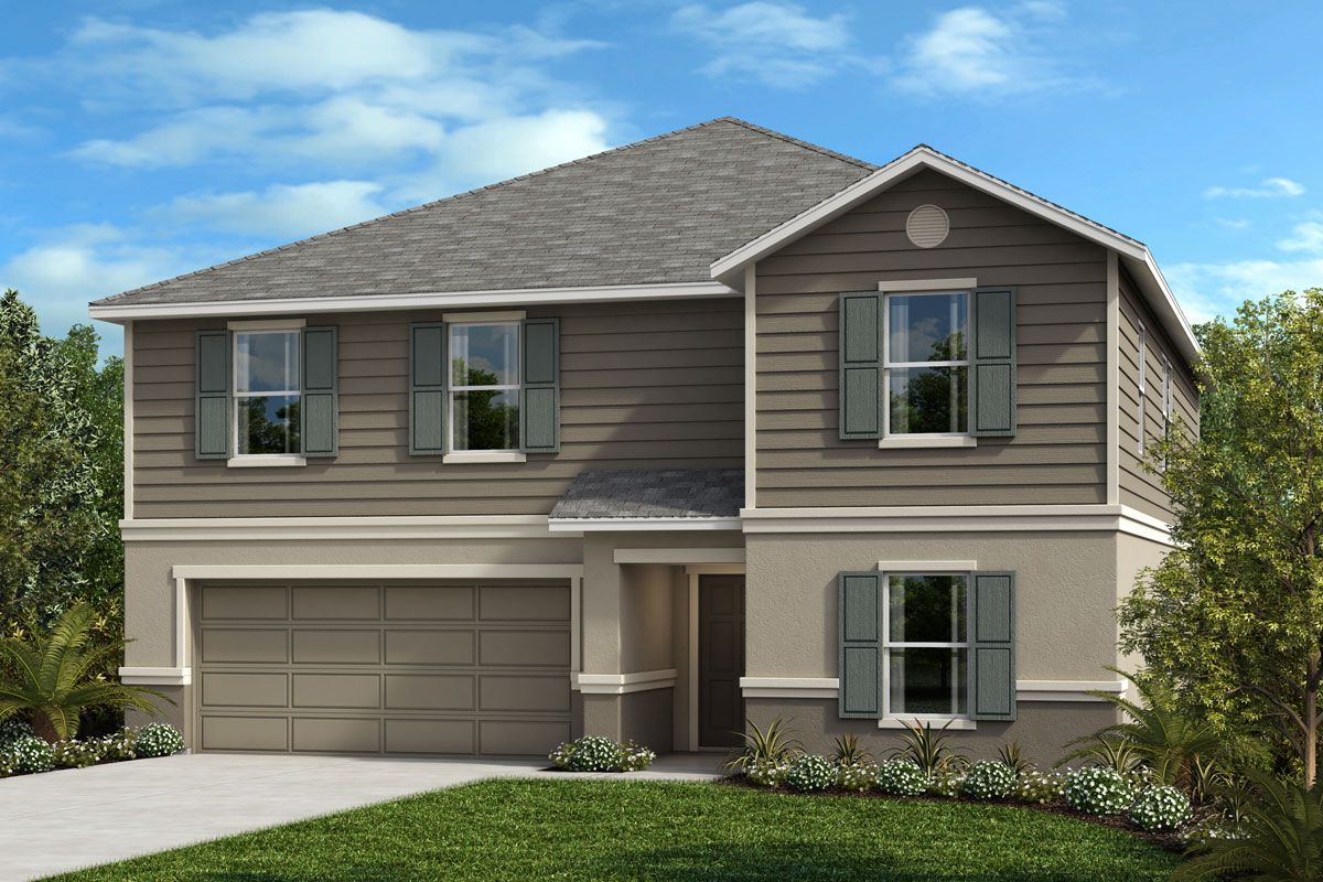 Exterior featured in the Plan 3016 By KB Home in Lakeland-Winter Haven, FL